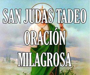 San Judas Tadeo Oracion Milagrosa
