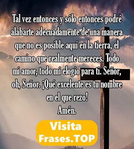 oraciones al señor