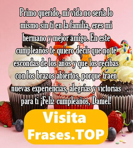 feliz cumpleaños Daniel Frases