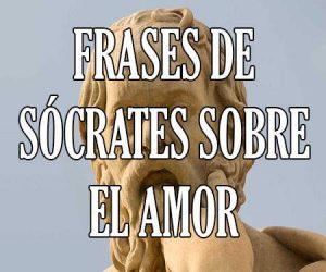 Frases de Socrates sobre el Amor