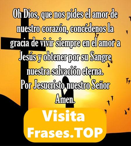 novena a la preciosisima sangre de jesuscristo