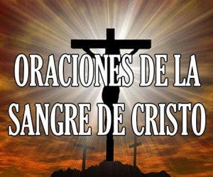 oraciones de la sangre de cristo