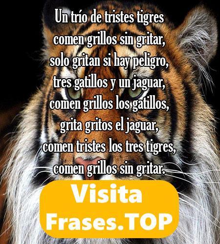 trabalenguas de los tres tristes tigres
