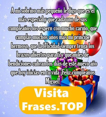 felicidades Miguel Mensajes