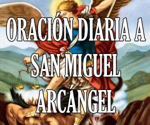Oración Diaria a San Miguel Arcángel