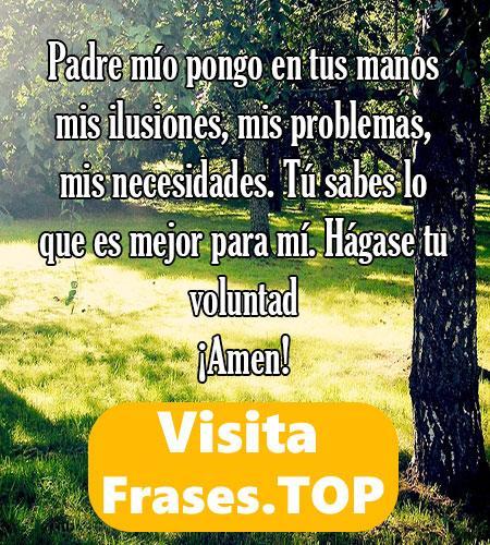 oración de la mañana de agradecimiento a Dios