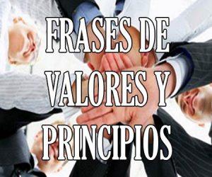 Frases de Valores y Principios