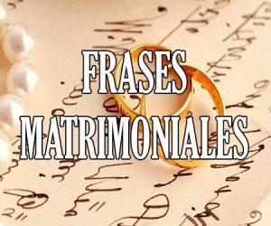 Frases Matrimoniales