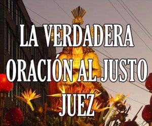 La Verdadera Oracion al Justo Juez