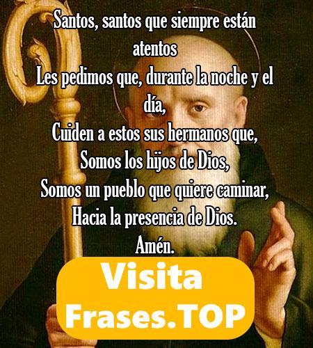 oraciones a San Benito y San Alejo