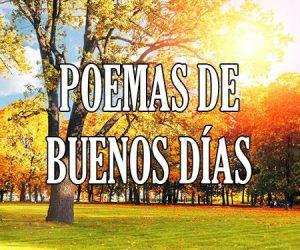 poemas de buenos días