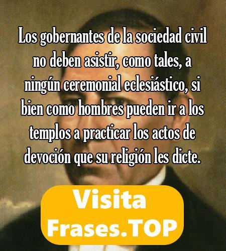 frases de Benito Juárez