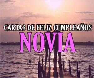 Cartas de Feliz Cumpleaños para una Novia