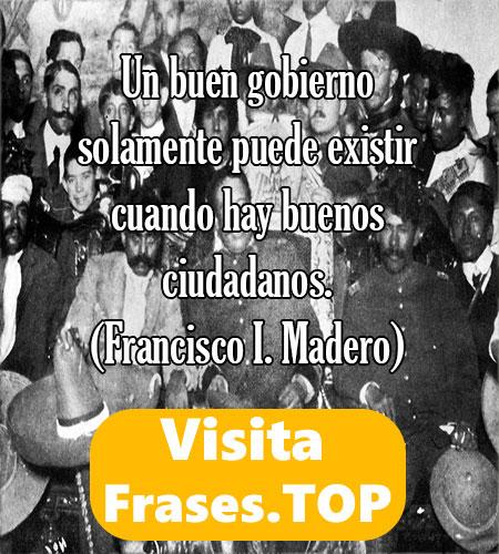 Frases de La Revolución Mexicana