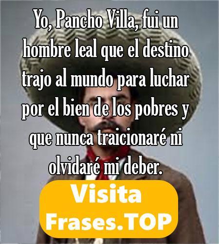 Frases de Emiliano Zapata Salazar y Pancho Villa