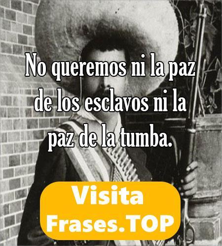 Las Mejores Frases de Emiliano Zapata