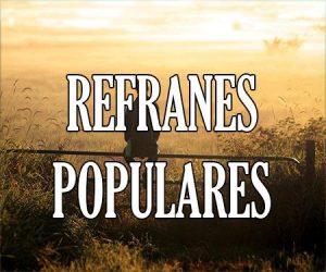 Refranes Populares