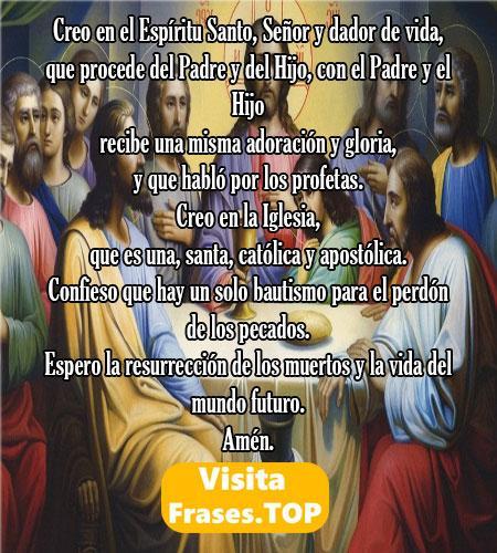El Credo Largo de Nicea