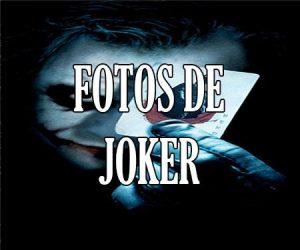 Fotos del Joker