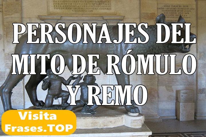 Personajes del mito de Rómulo y Remo