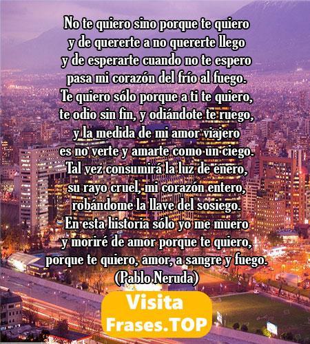 Poemas chilenos de amor bonitas