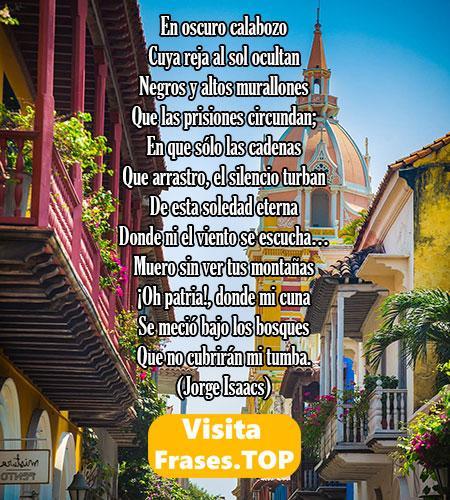 Poemas colombianos cortos