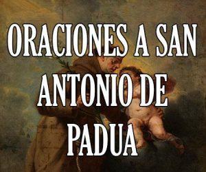 Oraciones a San Antonio de Padua
