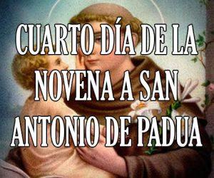 Cuarto Dia de la Novena a San Antonio de Padua