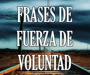 Frases de Fuerza de Voluntad