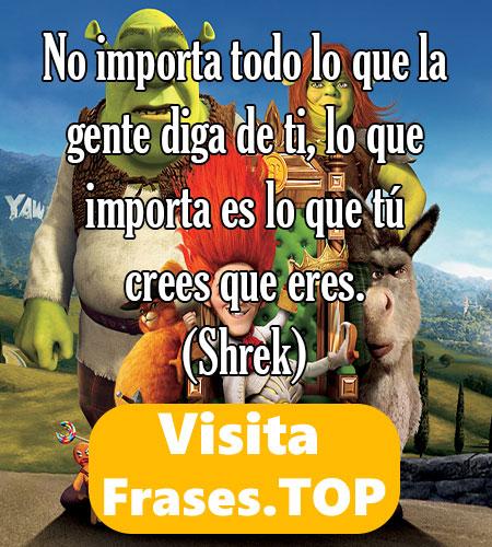 las mejores frases de Shrek
