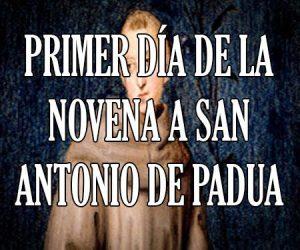 Primer Dia de la Novena a San Antonio de Padua