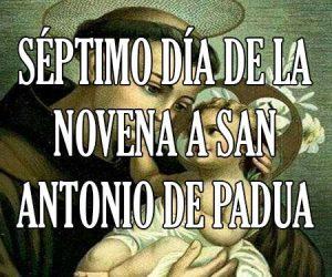Séptimo Dia de la Novena a San Antonio de Padua