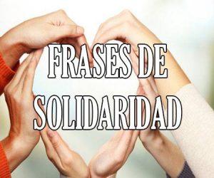 frases de solidaridad