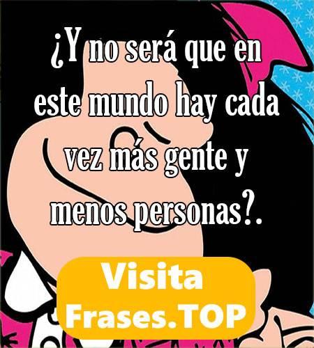 frases de Mafalda sarcasticas