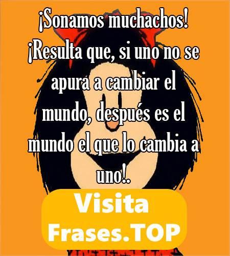 Frases para whatsapp de Mafalda
