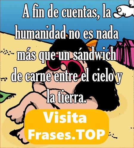 la mejor frase de Mafalda